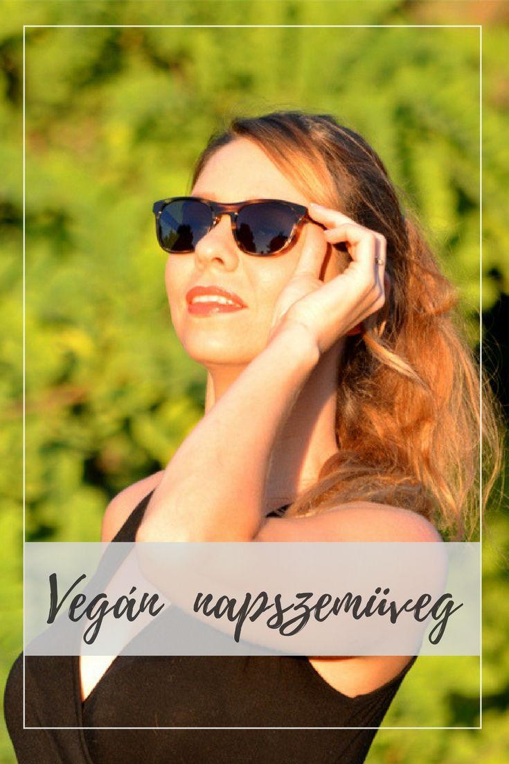 Vegán és környezetbarát napszemüveg a Jack&Francis márkától.