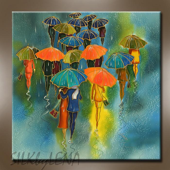 Yelena Sidorova, umbrellas