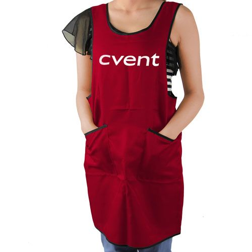 The Spun Polyester Double Pocket Apron, a dynamic product that is equipped with amazing size of 84 x 0 x 0 cm and also got some wonderful features like double pouch pocket, waist ties, bib apron which will help in promoting your brand through the product with a wide range of facilities that will save your cust more info: http://www.papachina.com/new/spun-polyester-double-pocket-apron