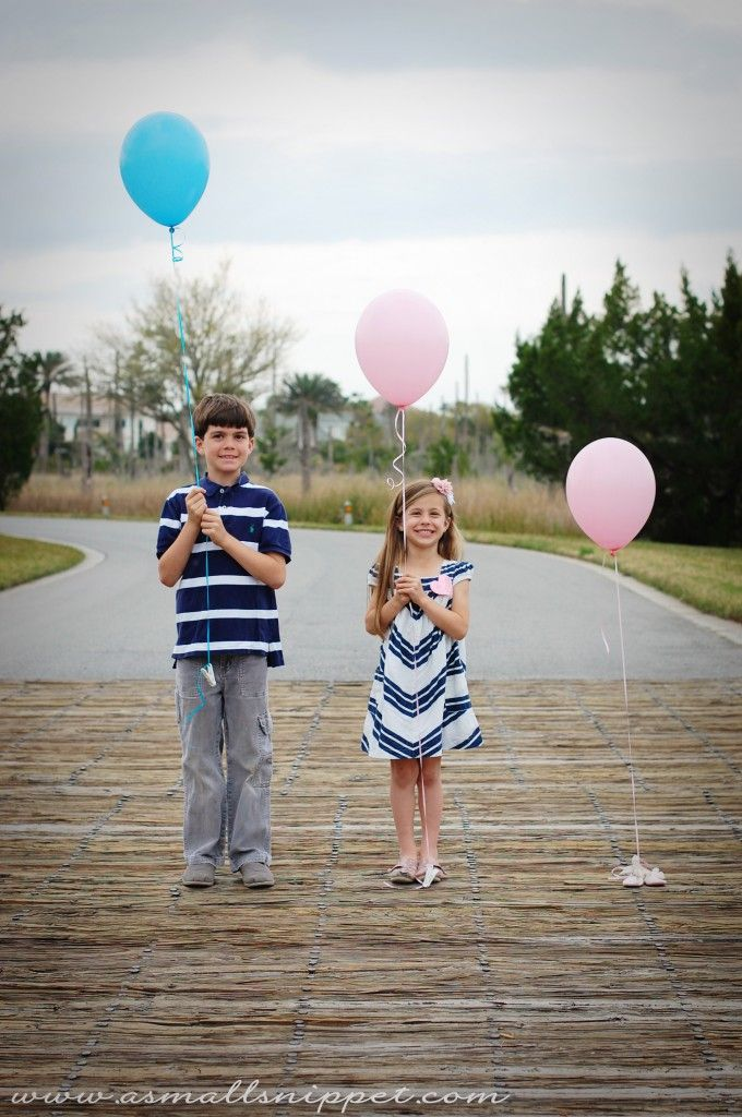 The 25 best Sibling gender reveal ideas – Announcing Gender of Baby Ideas
