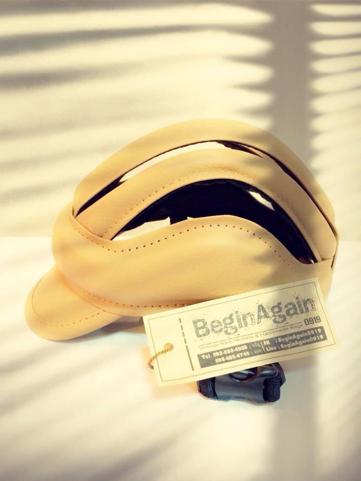 Vintage Bike Helmets by BeginAgain0919 ID: BG07