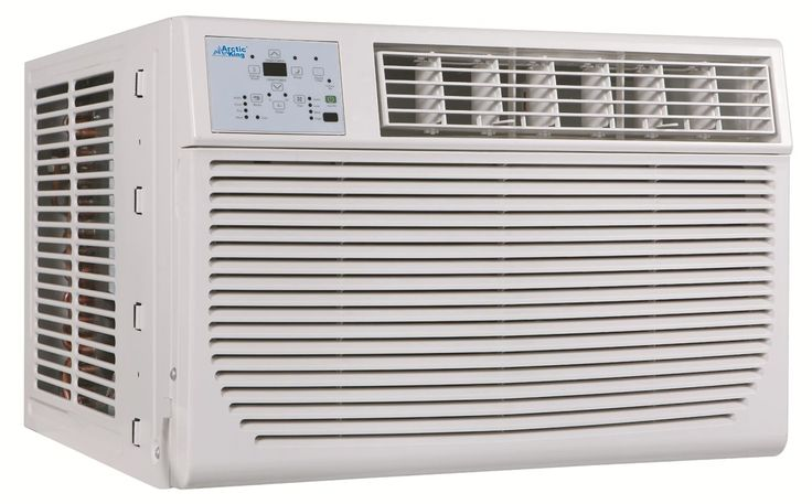 Arctic King AKSO08ER51 8000 BTU 115 Volt Window Air Conditioner with 8000 BTU He White Air Conditioners Through Wall Cooler And Heater