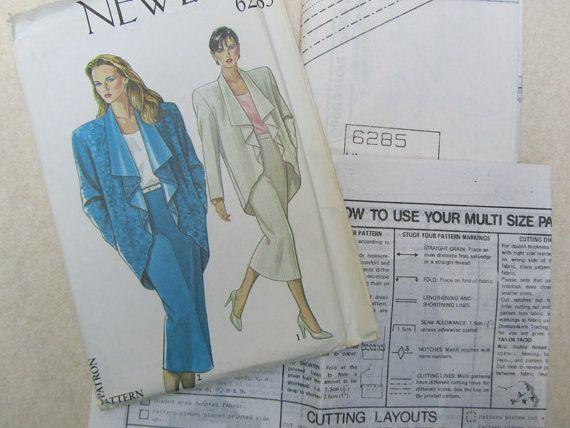 1989 New Look Pattern # 6235 multi sizes