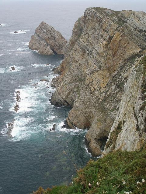 Acantilado de Cabo Peñas   Asturias  Spain