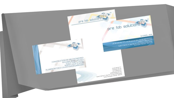 Wordist - #besurprised Brand Identity - Corporate Identity Suite, Letter Head/ Business Card/ Envelope, Logo, Brand Name, Caption/Tagline for Products/ Brands/ Personnel/ Organization   Client - Pre Fab Solutions. This is a Corporate Identity Suite done for Pre Fab Solutions. The concept was to come up with a creative design for the client's Corporate Identity and it is designed and conceptualised by the Team #wordistbrandidentity. We were asked to come up with a creative design.