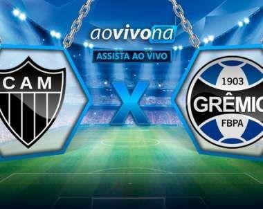 Assistir Atlético Mineiro x Grêmio ao vivo online hoje