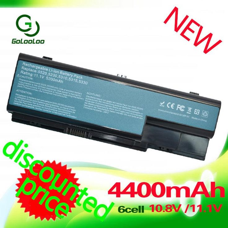 [Visit to Buy] Golooloo Laptop Battery for Acer Aspire 7730G 7520G 7530 7530G 7535 7540 7720 7720G 7730 7720Z 7730Z 7730ZG 7735 7736 7738 #Advertisement