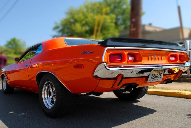 Dodge Challenger - We insure all of your auto be them Classics, Antique or your daily ride call House of Insurance #Eugene