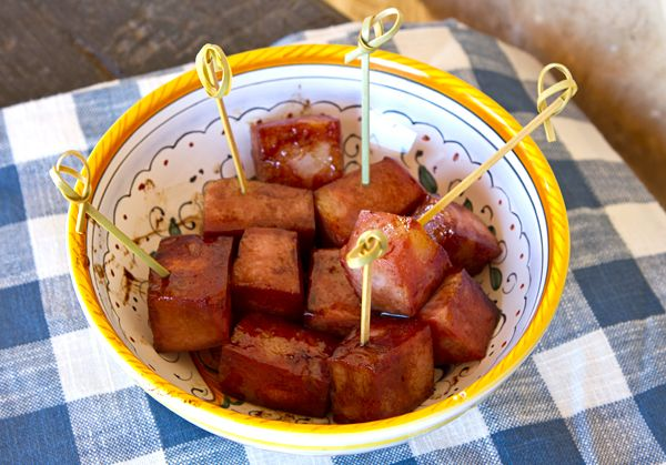 Italian Food Forever » Mortadella Bites - Easiest appetizer ever and so very addictive!