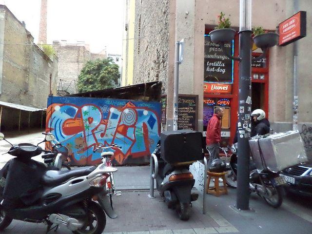 Graffiti in Budapest