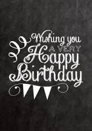 Image result for happy birthday chalkboard art