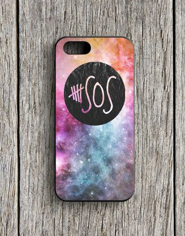 5 Second Of Summer Logo Galaxy iPhone 5 | 5S Case