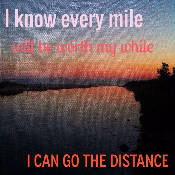 Go The Distance : Hercules : Disney : Running Quotes : Run