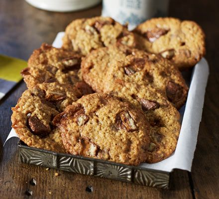 Chocolatey, fudgey cookies that are amazing warm from the oven or made into ice cream sandwiches. The ultimate indulgence