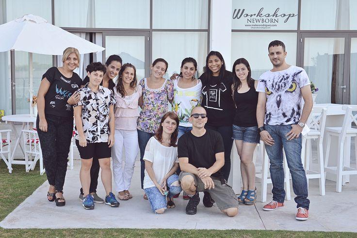 SEGUNDO Workshop fotografía NEWBORN melero rodriguez © 2015 Puerto Norte - Rosario. Un grupo magnífico, Asistente: Betiana Dos Santos (gracias!) Junto a participantes de todo el país, Chile y Panamá.