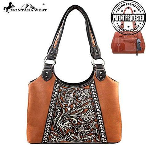 Montana West Concealed Handgun Collection Handbag *** For more information, visit image link. #WomenWallets