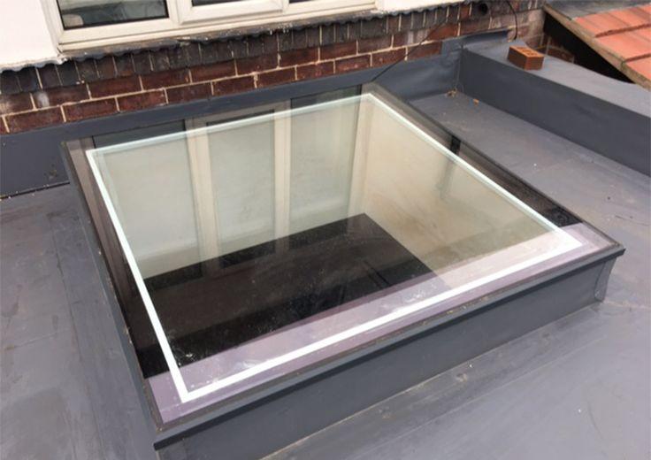 KATlite Aluminium Flat Roof Light
