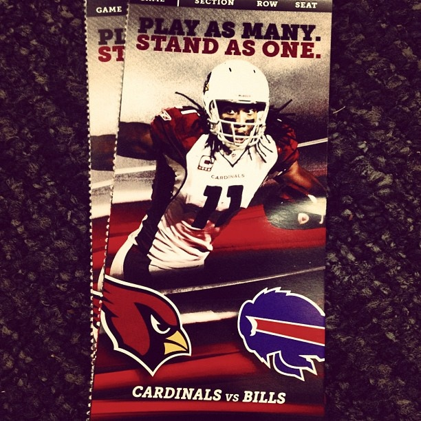 I'll be there... Go Cards