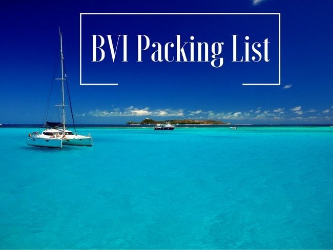 Hello, It is not always easy to know what to and what not to take when going on a vacation, especially if it's a sailing trip to the BVI! Here is an article that will help you determine what you really need to take! BVI Sailing Packing List – What to And Not to Bring!