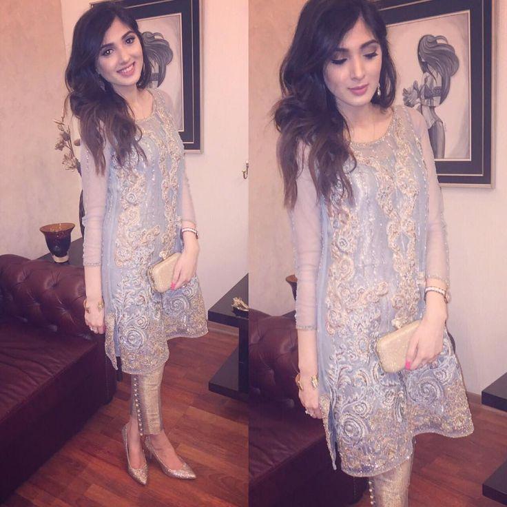 "Saira Rizwan on Instagram: ""Aimen looking flawless in #SairaRizwan  #GulMoharCollection"""