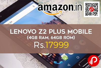 Amazon Launching #LenovoZ2Plus #Mobile at Rs.17999 Only. 4GB RAM, #64GB ROM, Snapdragon 820 SoC Processor 2.15GHz, 3500mAh High Density Graphite. Z2 Plus Mobile from Lenovo comes well-equipped with attractive features to deliver you a great user experience.   http://www.paisebachaoindia.com/lenovo-z2-plus-mobile-4gb-ram-64gb-rom-at-rs-17999-amazon/