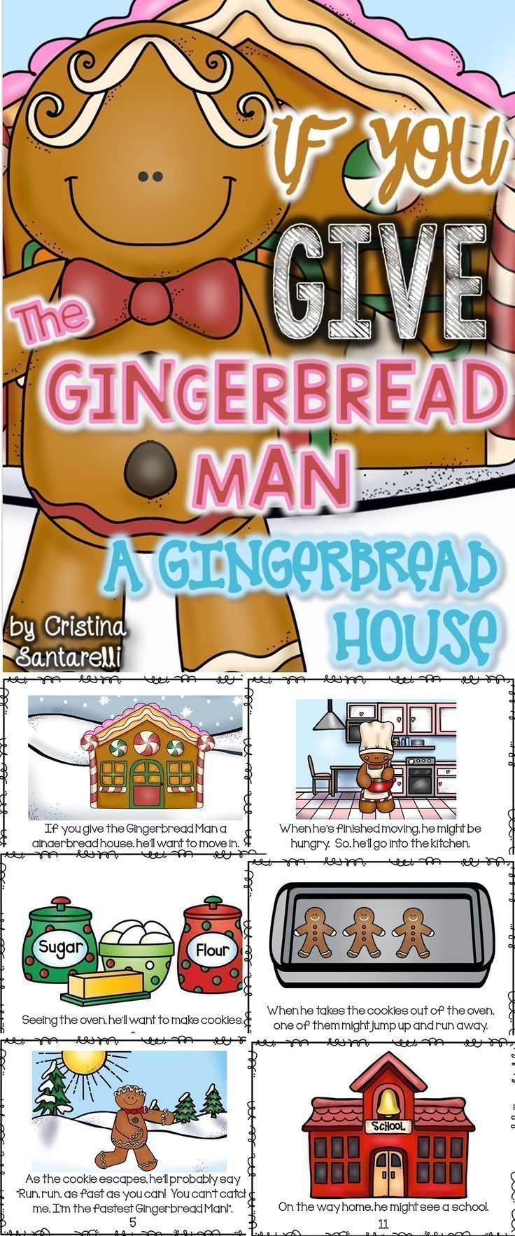 Gingerbread Literacy Activities!
