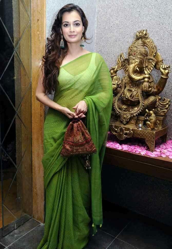 Beauty Queen Dia Mirza <3