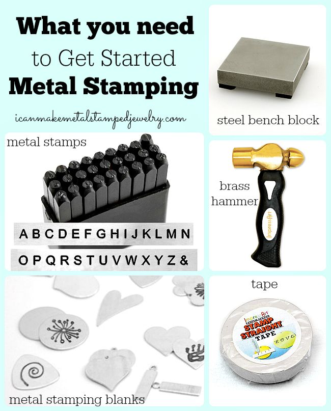 What You Need to Get Started Metal Stamping