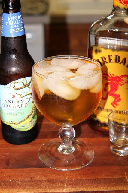Mix hard cider with Fireball to make a Ciderball. | 21 Ways To Make Cheap Liquor Taste Better