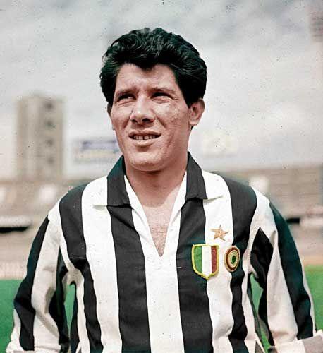 Omar Sivori - River Plate, Juventus, Napoli, Argentina, Italy.