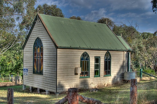 St Stephens Anglican Church, Hargraves NSW - 4 hours from Syd