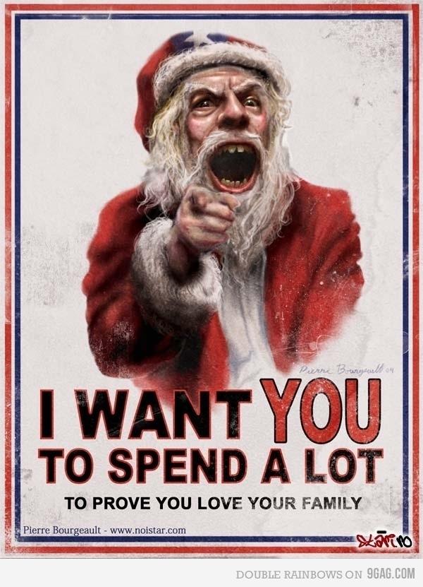 Capitalism on Christmas: Santa Clause, Christmas Time, The Holidays, I Want You, Random, Funny, Truths, Families, Merry Christmas