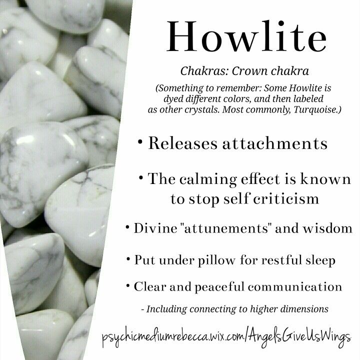 Howlite crystal meaning