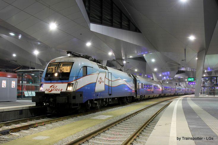 ÖBB 1116 251 / WienHauptbahnhof — Trainspo