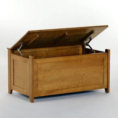 Schoolhouse Toy Box - Pecan