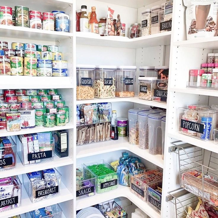 idesign on instagram the secret to an organized pantry check out these smart solutions from on kitchen organization no pantry id=23715