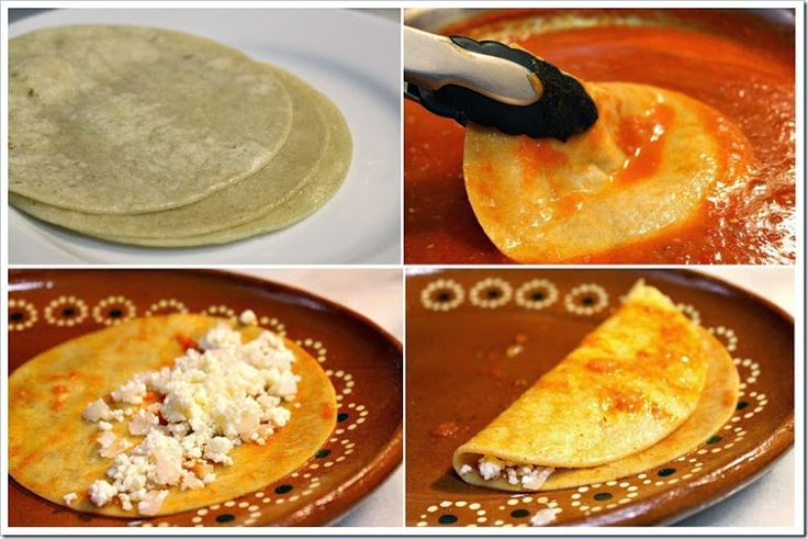 Entomatadas are made using the same process to making enchiladas, but covered with tomato sauce instead and topped with crumbled cheese.  Entomatadas are well-known all throughout Mexico, and it is a wholesome meal that is loved by all the adults and children in my family.