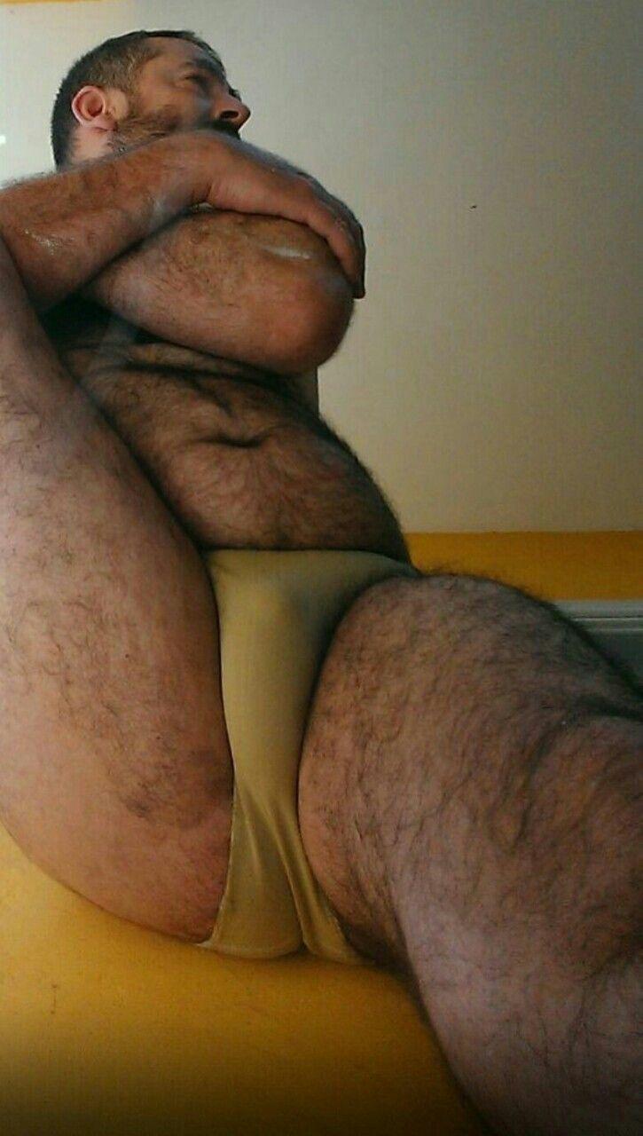 Beautiful belly bear hairy like interracial