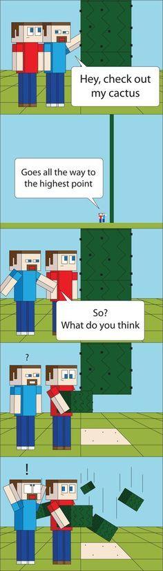 Minecraft Comics
