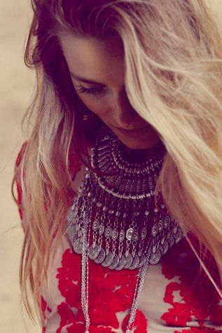 Chanour Womens Antalya Coin Collar #shop
