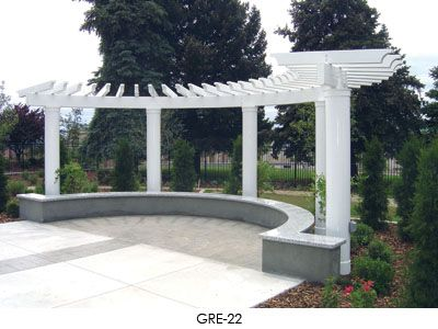 Half Circle Pergola For The Home Pinterest Circles