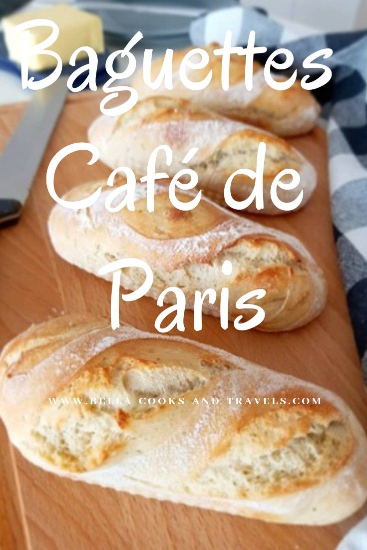 Delicious recipe for French baguettes #baguette #recipe #simple #sauerteig