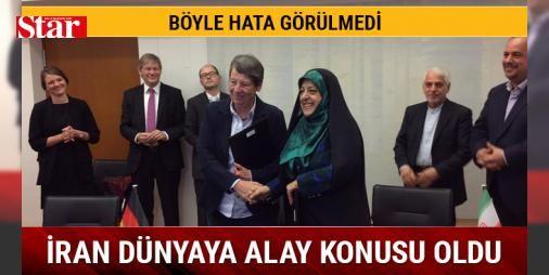 İran medyası alay konusu oldu : İran Cumhurbaşkanı Yardımcısı Masume Ebtekarın Alman Çevre Bakanı ile buluşması İranda olay oldu.  http://ift.tt/2dBdmDA #Dünya   #İran #Alman #Çevre #Bakanı #olay