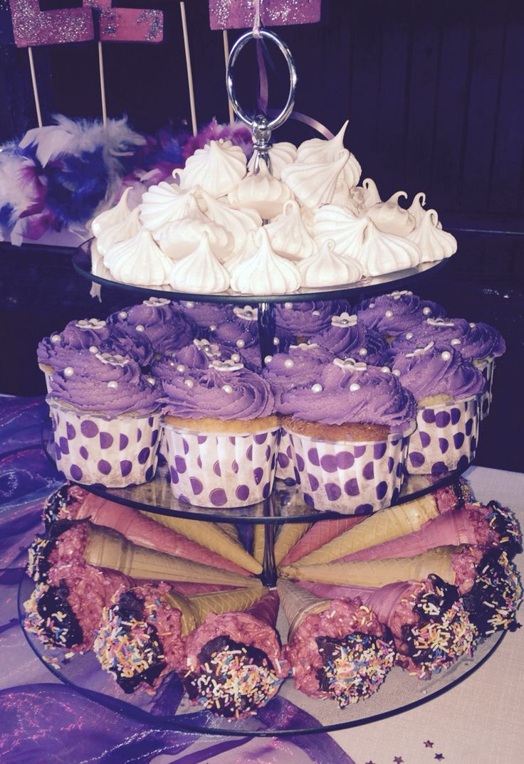 Sofia the first party snacks