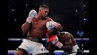 ANTHONY JOSHUA WINS THE FIGHT