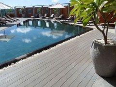 Decking in WPC ECOLEGNO | Pavimento per esterni in legno composito - ECOLEGNO by Saimex