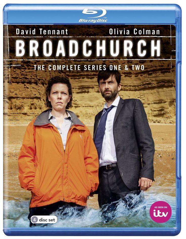 Broadchurch - Series 1-2 [Blu-ray]: Amazon.co.uk: David Tennant, Olivia Coleman: DVD & Blu-ray