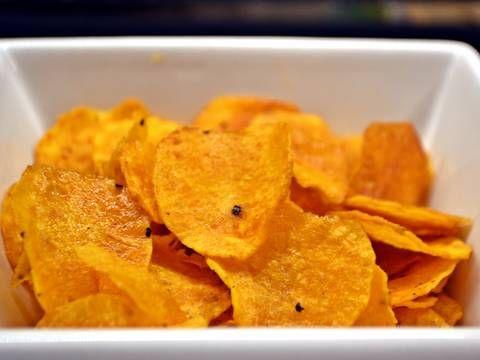 Édesburgonya chips | Nor receptje - Cookpad receptek