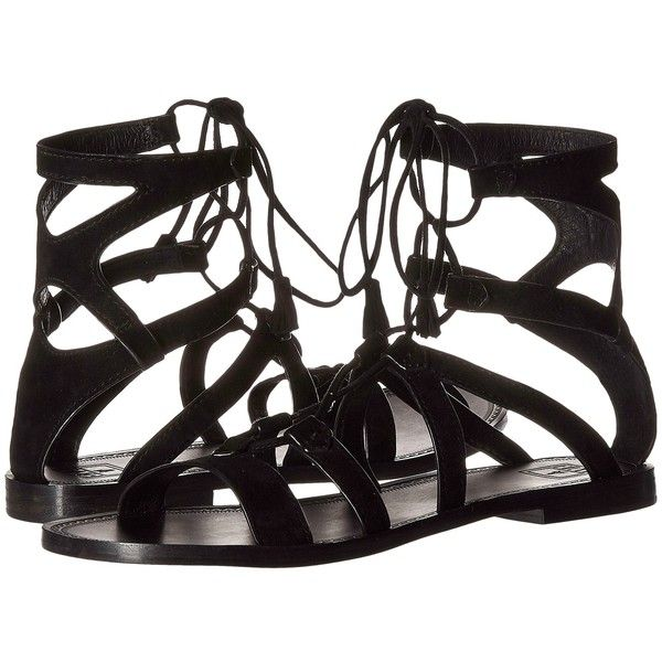 Frye Ruth Gladiator Short Sandal Women's Sandals (825 BRL) ❤ liked on Polyvore featuring shoes and sandals