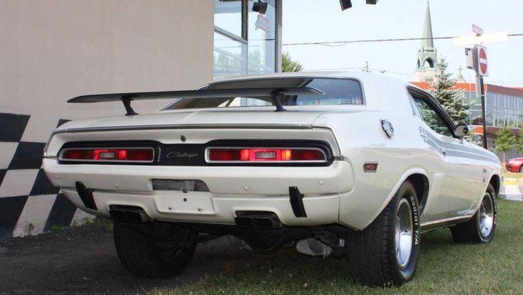 71 Dodge Challenger R/T #dodgeclassiccars
